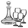 Ensemble de Décanteur et 4 verres à vin