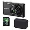 Appareil photo numérique Sony 20,1 MP Cyber-shot avec étui et carte mémoire 8Go